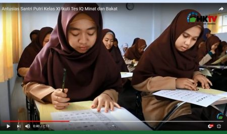 BK MA Husnul Khoitmah selenggarakan Psikotes Kelas 11