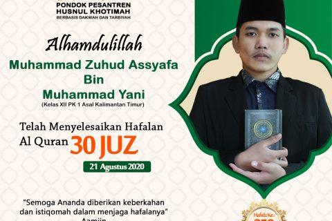 Muhammad Zuhud Assyafa Bin Muhammad Yani