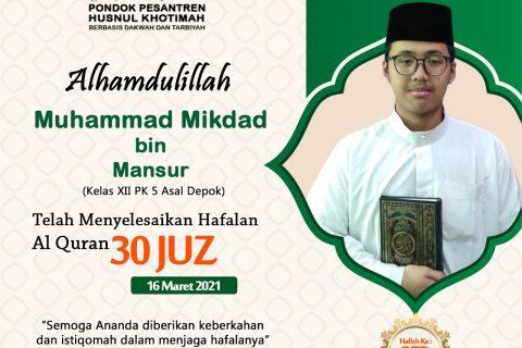 Muhammad Mikdad bin Mansur