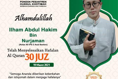 Ilham Abdul Hakim bin Nurjaman