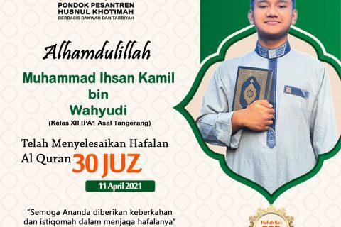 Muhammad Ihsan Kamil bin Wahyudi