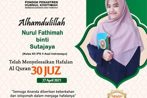 Nurul Fathimah binti Sutajaya