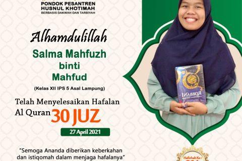 Salma Mahfuzh binti Mahfud