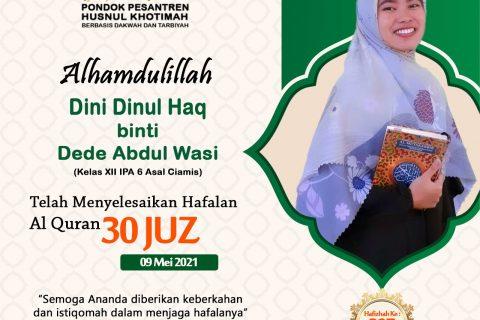 Dini Dinul Haq binti Dede Abdul Wasi