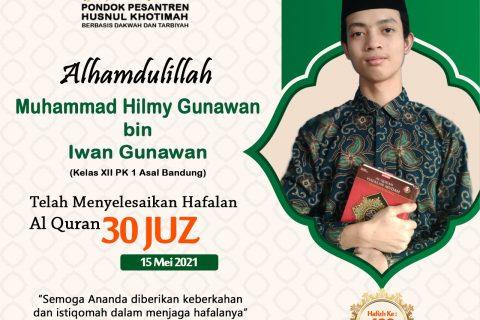 Muhammad Hilmy Gunawan bin Iwan Gunawan
