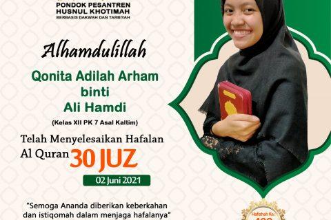 Qonita Adilah Arham binti Ali Hamdi