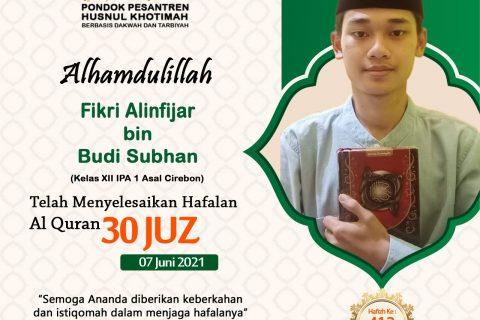 Fikri Alinfijar bin Budi Subhan