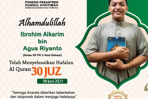 Ibrohim Alkarim bin Agus Riyanto
