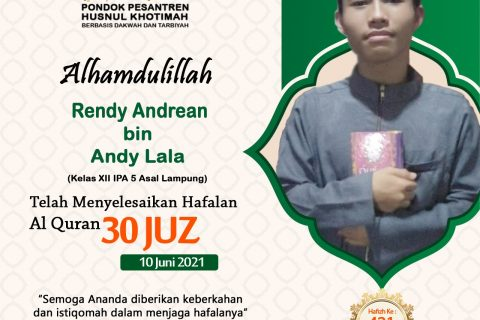 Rendy Andrean bin Andy Lala