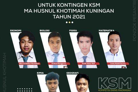 KONTINGEN KSM MA 2021