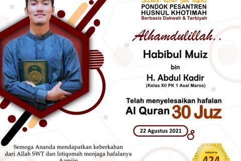 Habibul Muiz Bin H. Abdul Kadir