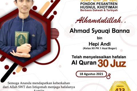 Ahmad Syauqi Banna Bin Hepi Andi