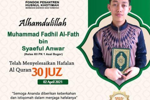 Muhammad Fadhil Al-Fath bin Syaeful Anwar